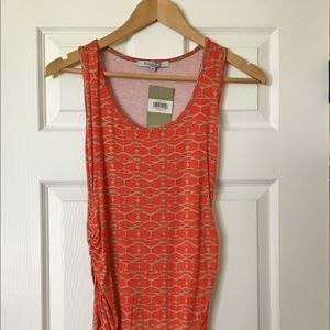 Expected Rouched Maternity Tank NWT